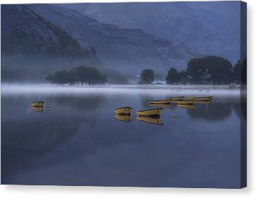 Llanberis - Wales Canvas Print by Joana Kruse