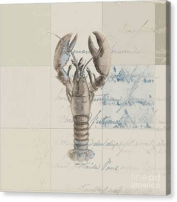 Lobster - J122129185-1212 Canvas Print by Variance Collections