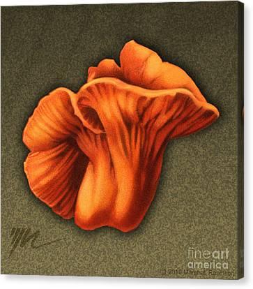 Lobster Mushroom Canvas Print by Marshall Robinson