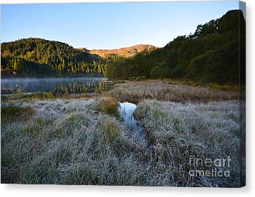 Loch Chon Canvas Print by Stephen Smith