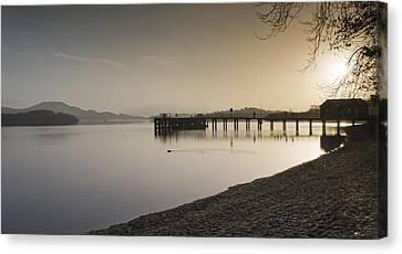Loch Lomond Canvas Print by Sam Smith