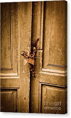 Locked Canvas Print by Gabriela Insuratelu