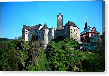Loket Castle  Canvas Print by Juergen Weiss