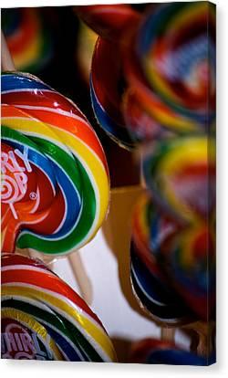 Lollipops Canvas Print by Lisa Knechtel