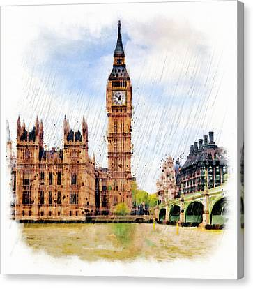 London Calling Canvas Print by Marian Voicu