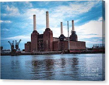 London  Canvas Print by Cyril Jayant