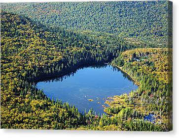 Lonesome Lake - White Mountains New Hampshire Usa Canvas Print by Erin Paul Donovan