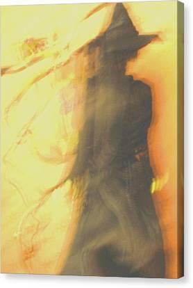 Long Cool Woman In A Black Dress Canvas Print by Susie DeZarn