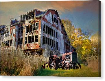 Long Forgotten Canvas Print by Lori Deiter