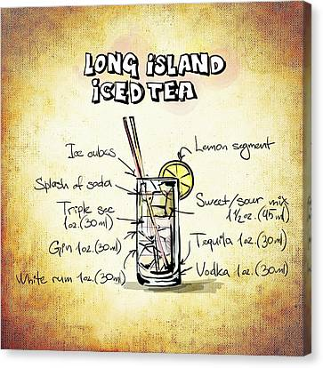 Long Island Iced Tea Canvas Print by Movie Poster Prints