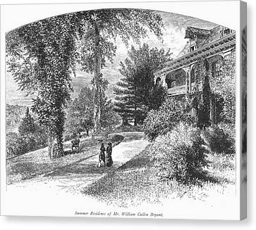 Long Island: Summer Home Canvas Print by Granger