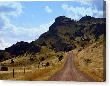 Lonly Road Canvas Print by Marty Koch
