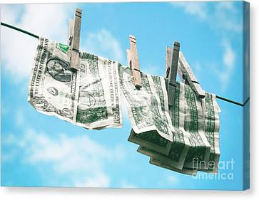 Look How Much A Dollar Buys Canvas Print by Sharon Mau
