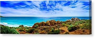 Look To The Horizon Canvas Print by Az Jackson
