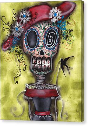 Looking For Love Canvas Print by  Abril Andrade Griffith