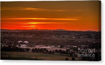 Looking West Canvas Print by Robert Bales