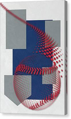 Los Angeles Dodgers Art Canvas Print by Joe Hamilton