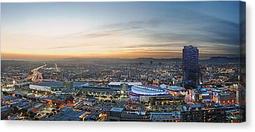 Los Angeles West View Canvas Print by Kelley King