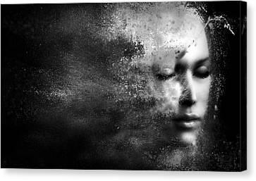 Losing Myself Canvas Print by Jacky Gerritsen