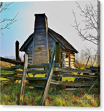 Lost In Time Canvas Print by Robert Pearson