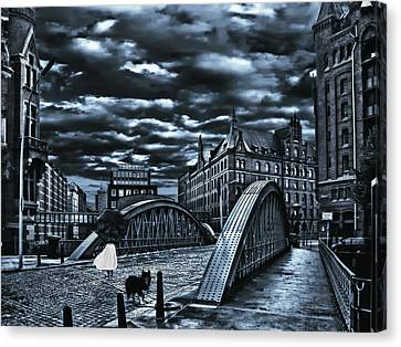 Lost Canvas Print by Joachim G Pinkawa