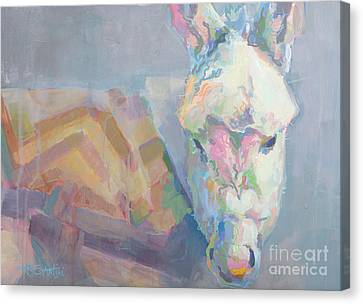 Louie Canvas Print by Kimberly Santini
