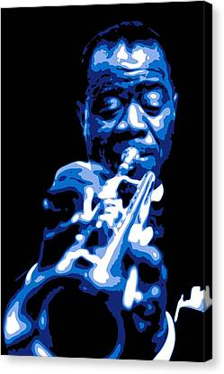 Louis Armstrong Canvas Print by DB Artist