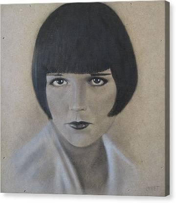 Louise Canvas Print by Lynet McDonald