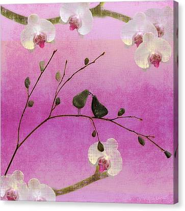 Love Birds Canvas Print by Andrea Kollo
