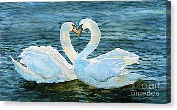 Love Forever Canvas Print by Marisa Gabetta