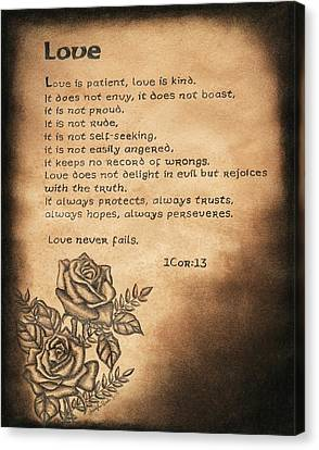 Love Is... Canvas Print by Christopher Brooks