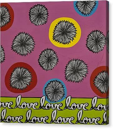 Love Multiplied Canvas Print by Gloria Rothrock