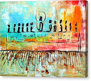 Love One Another Canvas Print by Ivan  Guaderrama