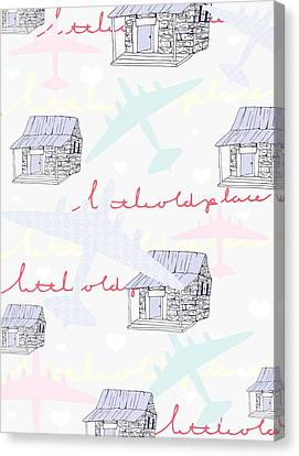 Love Shack Canvas Print by Beth Travers