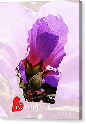 Valentine Love You Forever M12 Canvas Print by Johannes Murat
