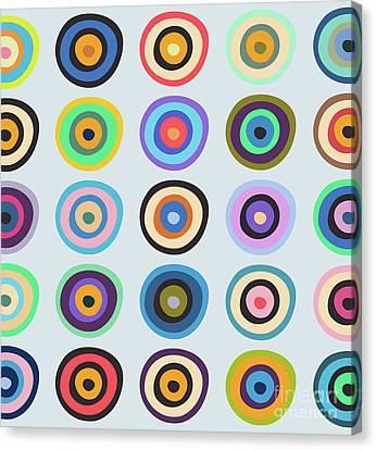 Lovely Pattern V Canvas Print by Amir Faysal