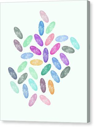 Lovely Pattern Vi Canvas Print by Amir Faysal