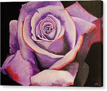 Lover's Rose Canvas Print by Blake Wesley