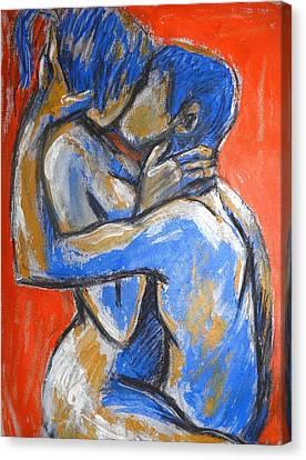 Lovers - Sweet Sixteen Canvas Print by Carmen Tyrrell