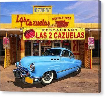 Low Rider At Las Cazuelas Canvas Print by Ron Regalado