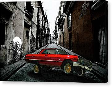 Low Rider Canvas Print by Monday Beam