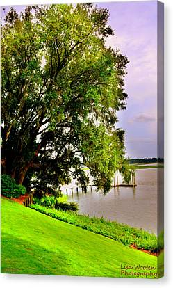 Lowcountry Living Canvas Print by Lisa Wooten