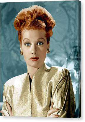 Lucille Ball Canvas Print by Everett Collection