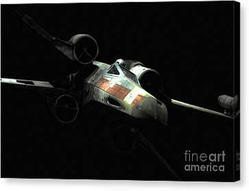 Luke's Original X-wing Canvas Print by Micah May