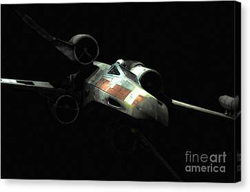 Luke's Original X-wing Canvas Print by Micah May