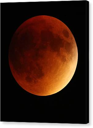 Lunar Eclipse 1 Canvas Print by Coby Cooper