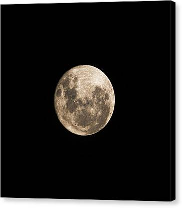 Lunar Perigee Canvas Print by Andrew Paranavitana