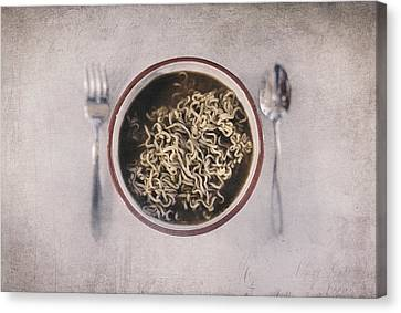 Lunch Canvas Print by Scott Norris