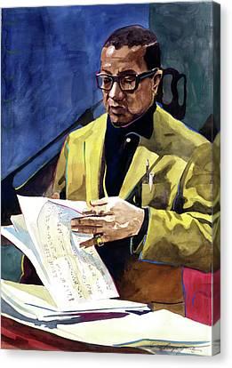Lush Life Billy Strayhorn Canvas Print by David Lloyd Glover