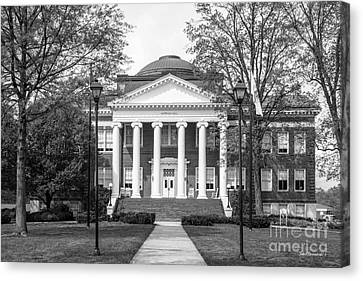 Lynchburg College Hopwood Hall Canvas Print by University Icons